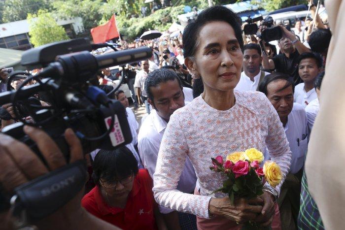 Μιανμάρ: Ιστορική νίκη της Αούνγκ Σαν Σου Κι - εικόνα 4