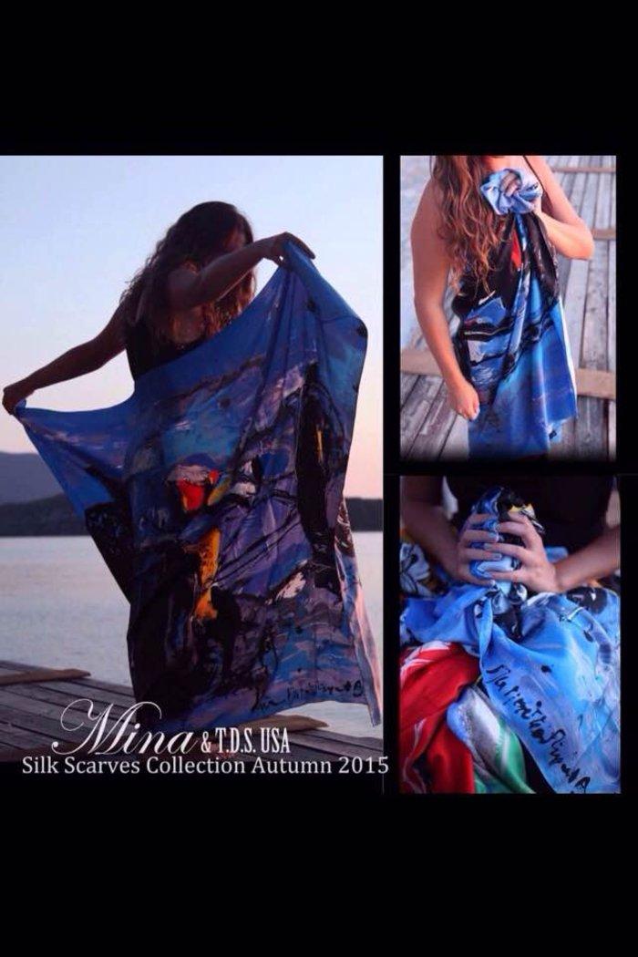Μίνα Παπαθεοδώρου Βαλυράκη: Η τέχνη της ...ταχύτητας στο φουλάρι - εικόνα 2