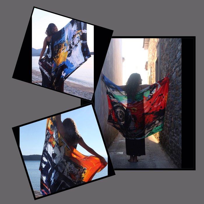 Μίνα Παπαθεοδώρου Βαλυράκη: Η τέχνη της ...ταχύτητας στο φουλάρι - εικόνα 3