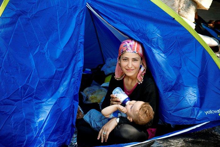 Μυτιλήνη, Κως, Αθήνα, Ειδομένη: Το άλμπουμ της προσφυγιάς στο Ι. Κακογιάννη - εικόνα 2