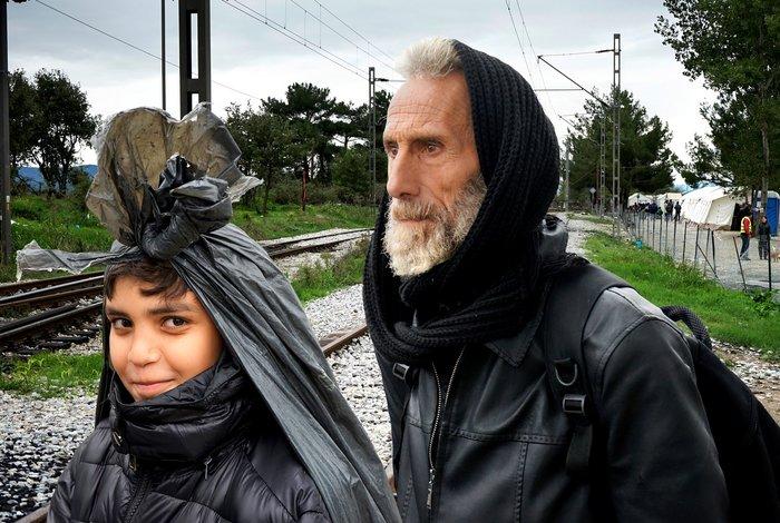 Μυτιλήνη, Κως, Αθήνα, Ειδομένη: Το άλμπουμ της προσφυγιάς στο Ι. Κακογιάννη - εικόνα 3