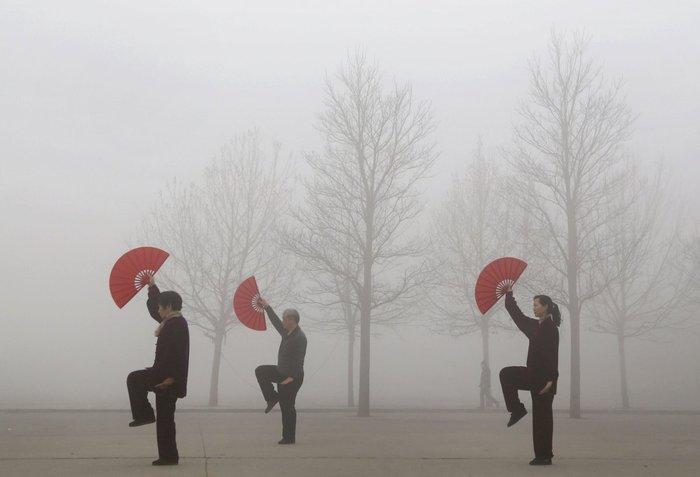 17 δραματικές φωτογραφίες από την ατμοσφαιρική ρύπανση στην Κίνα - εικόνα 2