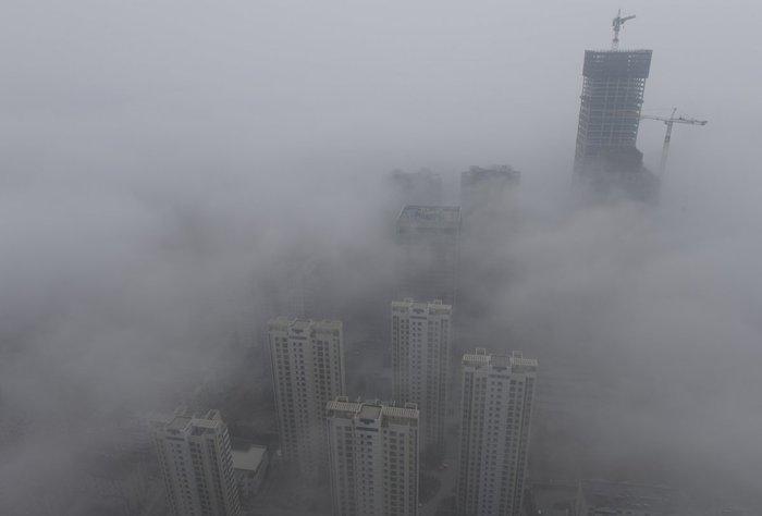 17 δραματικές φωτογραφίες από την ατμοσφαιρική ρύπανση στην Κίνα - εικόνα 3