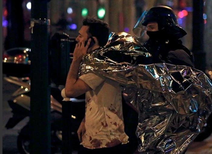 Καρέ καρέ η νύχτα του τρόμου στο Παρίσι -Φωτογραφίες και Βίντεο - εικόνα 4