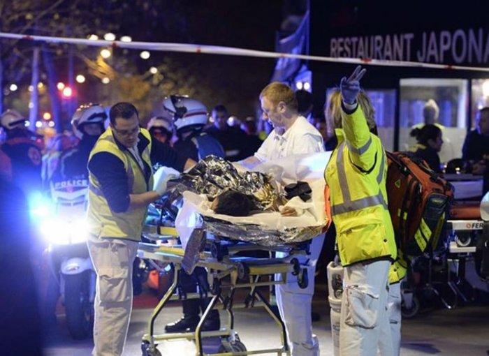 Καρέ καρέ η νύχτα του τρόμου στο Παρίσι -Φωτογραφίες και Βίντεο - εικόνα 5
