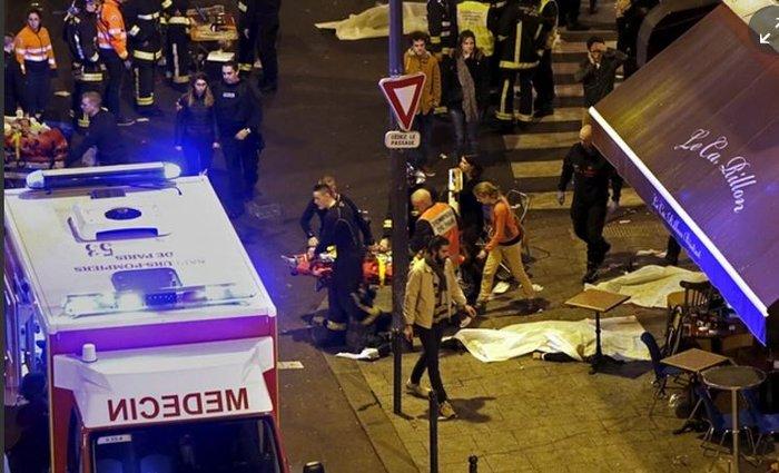 Καρέ καρέ η νύχτα του τρόμου στο Παρίσι -Φωτογραφίες και Βίντεο - εικόνα 7