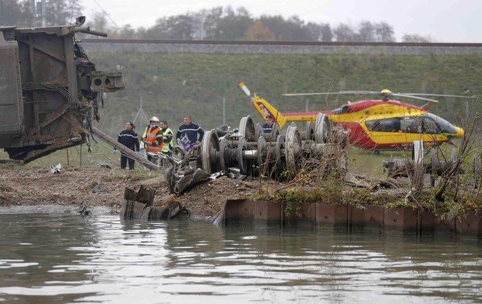 Στρασβούργο: 5 νεκροί από εκτροχιασμό τρένου TGV - εικόνα 5