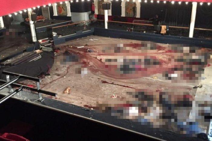 Σοκάρει η φωτογραφία μέσα από το Bataclan την επομένη της επίθεσης