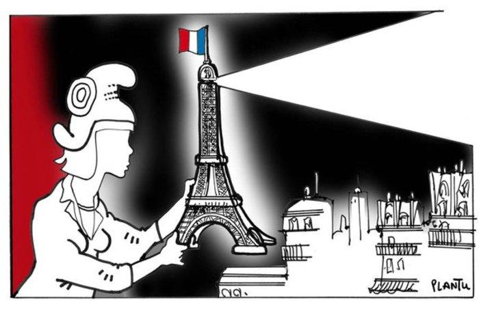 Σκιτσογράφοι από όλον τον κόσμο θρηνούν για το Παρίσι - εικόνα 5