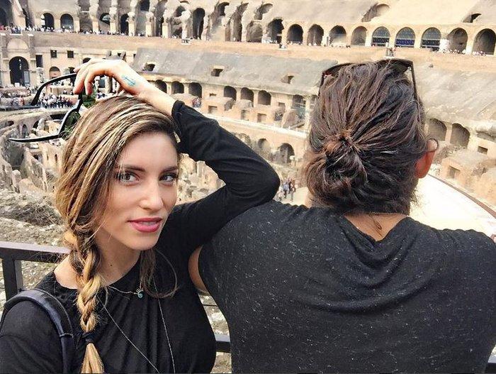 Αθηνά Οικονομάκου: Ερωτευμένη και πανέμορφη στην «Αιώνια Πόλη» - εικόνα 3