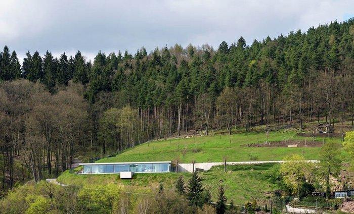 Δείτε το σπίτι από γυαλί, ατσάλι και τσιμέντο που... κρύβεται στον λόφο - εικόνα 14