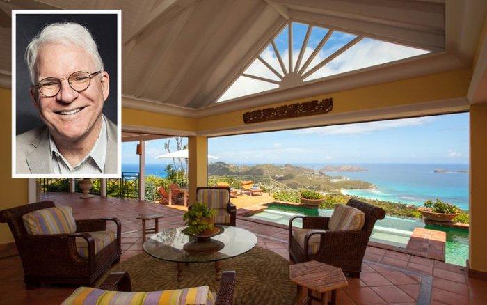 Πουλάει την βίλα του στην Καραϊβική ο Στιβ Μάρτιν