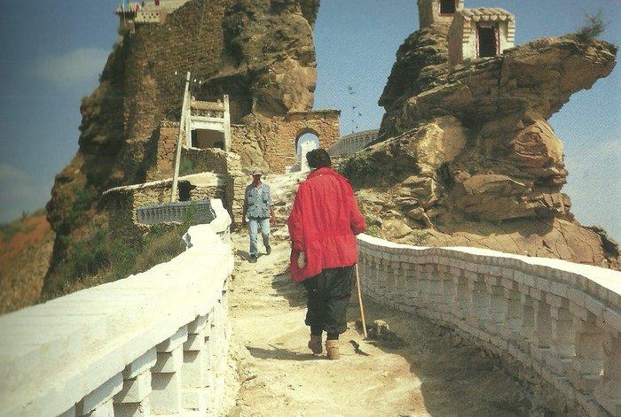 Ένας χωρισμός, καλλιτεχνικό έργο στο Σινικό τείχος