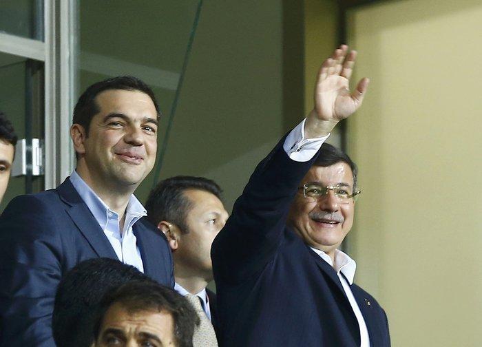 Μαζί στο γήπεδο Τσίπρας- Νταβούτογλου στην Κωνσταντινούπολη - εικόνα 9