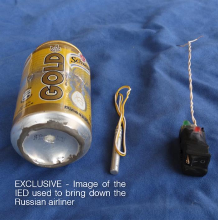 ISIS:Ρίξαμε το αεροπλάνο με ένα μικρό κουτάκι σόδας