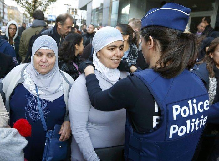 Στρατός και αστυνομία στους δρόμους των Βρυξελλών - εικόνα 3