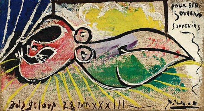 Pablo Picasso - Femme Endormie - 1933