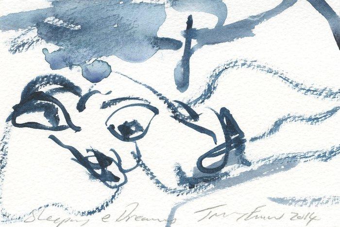Tracey Emin. Sleeping & Dreams.