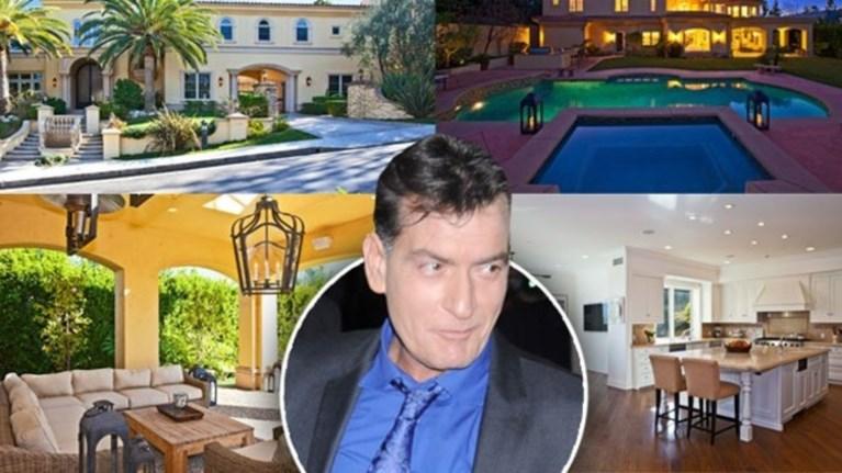 Ο οροθετικός Τσάρλι Σιν πουλά το αρχοντικό του μετά το σκάνδαλο