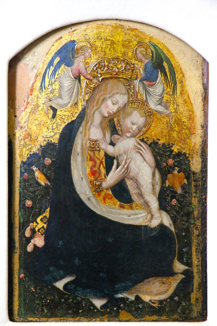 """Madonna of the Quail"""