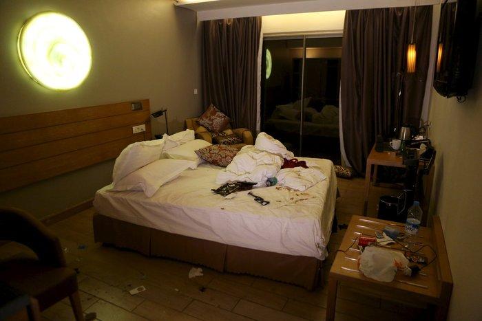 Εικόνες-σοκ από την τρομοκρατική επίθεση στο ξενοδοχείο στο Μάλι