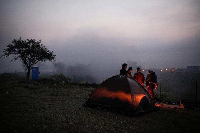 Ειδομένη: Συγκλονιστικές φωτογραφίες από το δράμα των προσφύγων