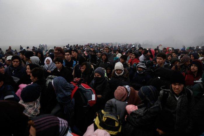Ειδομένη: Συγκλονιστικές φωτογραφίες από το δράμα των προσφύγων - εικόνα 7