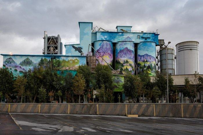 Τα εντυπωσιακά γκράφιτι στο εργοστάσιο της ΤΙΤΑΝ - εικόνα 2