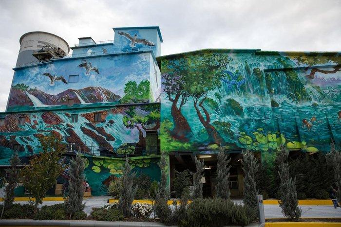 Τα εντυπωσιακά γκράφιτι στο εργοστάσιο της ΤΙΤΑΝ - εικόνα 4