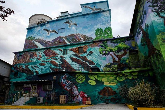 Τα εντυπωσιακά γκράφιτι στο εργοστάσιο της ΤΙΤΑΝ - εικόνα 7