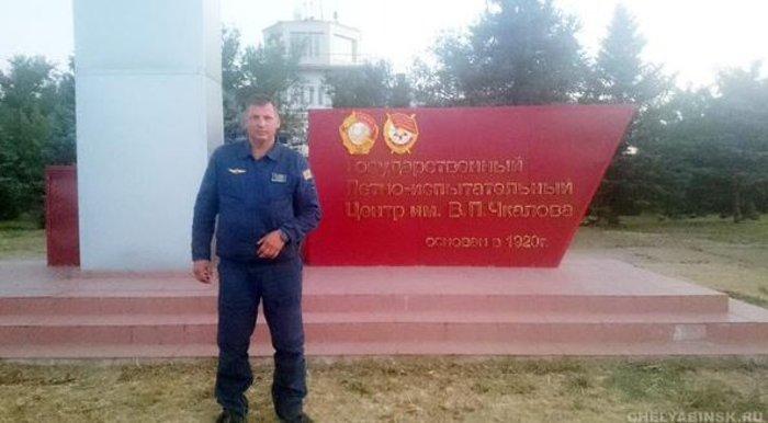 Αυτός είναι ο ένας από τους πιλότους του Ρωσικού Σουχόι