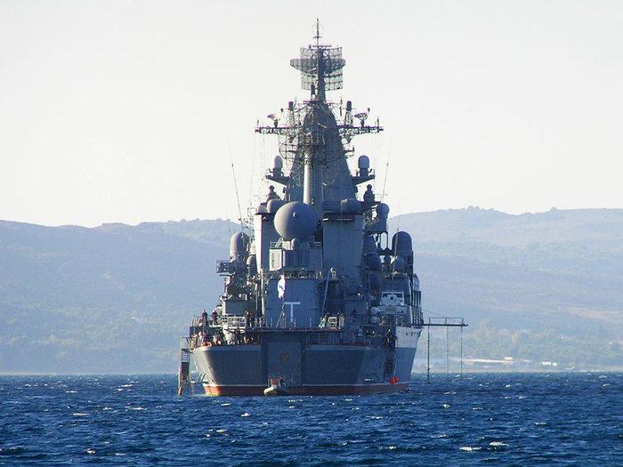 Η Ρωσία βγάζει στη Μεσόγειο το καταδρομικό «MosKva» - εικόνα 2