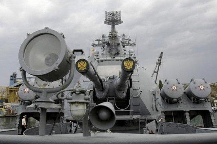 Η Ρωσία βγάζει στη Μεσόγειο το καταδρομικό «MosKva» - εικόνα 3