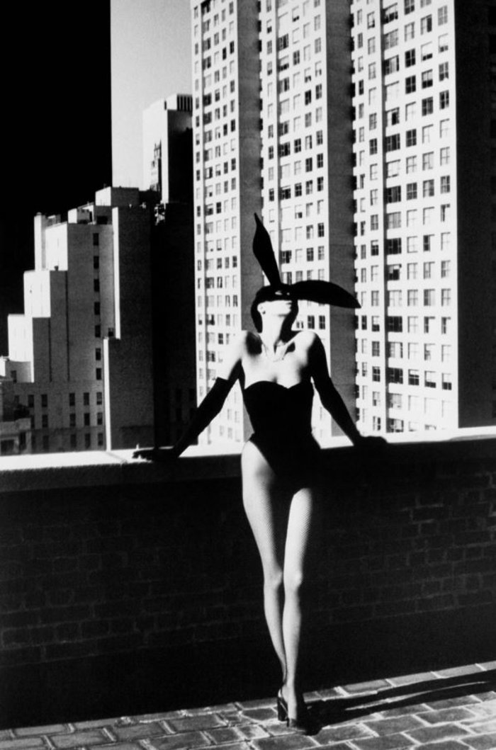 Elsa Peretti in Bunny Costume
