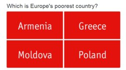 Ο Εconomist μας έβαλε σε κουίζ για την πιο φτωχή χώρα της Ευρώπης