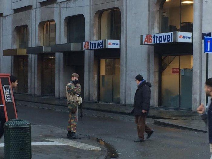 Η ζωή επιστρέφει σταδιακά στις Βρυξέλλες (φωτό) - εικόνα 4