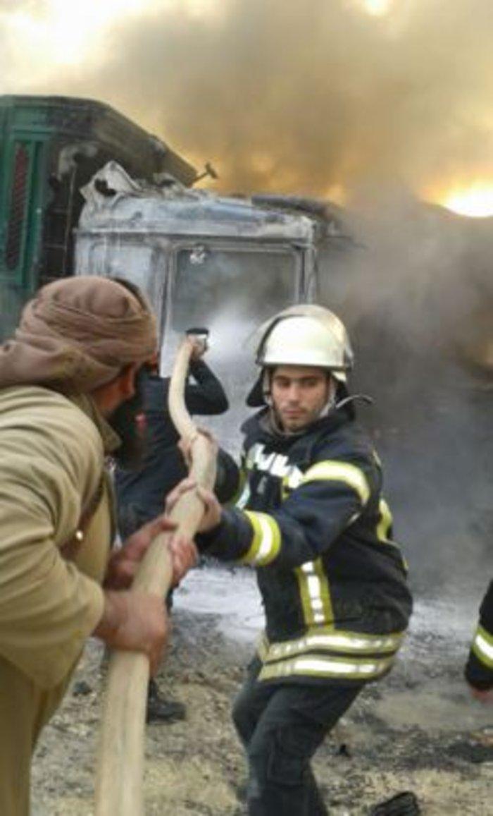 Χτυπήθηκε τουρκικό κονβόι στα σύνορα Τουρκίας-Συρίας - εικόνα 2