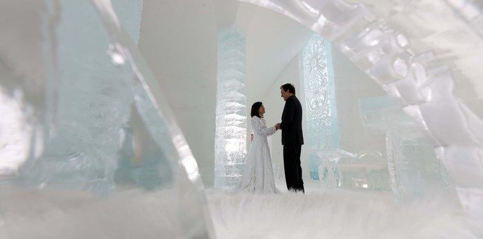 Το ξενοδοχείο που λιώνει & ξαναχτίζεται κάθε χρόνο από 500 τόνους πάγου! - εικόνα 10