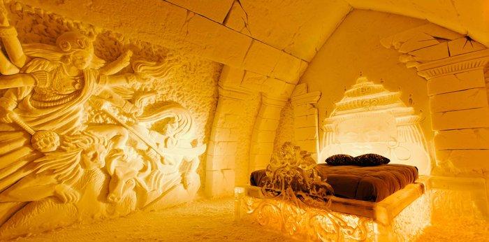 Το ξενοδοχείο που λιώνει & ξαναχτίζεται κάθε χρόνο από 500 τόνους πάγου! - εικόνα 17