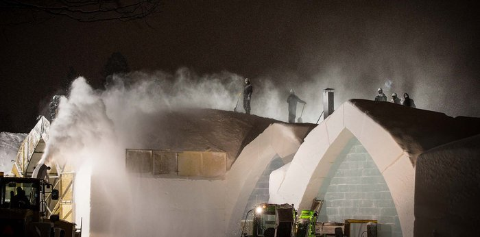 Το ξενοδοχείο που λιώνει & ξαναχτίζεται κάθε χρόνο από 500 τόνους πάγου! - εικόνα 20