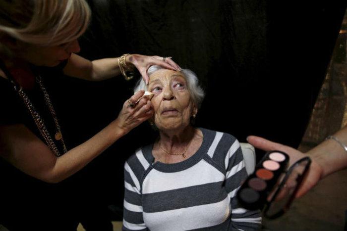 Η Rivka Kushnir, 85 ετών