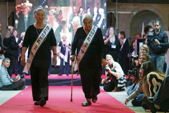 Η Judith Rosenzweig, 81 ετών και η Rivka Shtanger, 74.