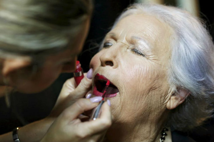 Η νικήτρια του 2014 Hava Hershkovitz, 82 ετών