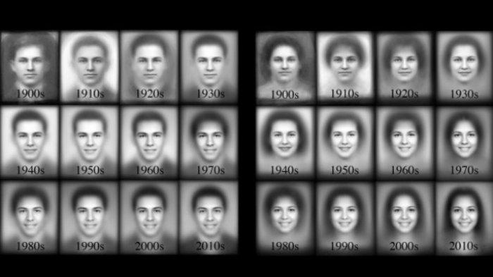 100 χρόνια φωτογραφιών αποκαλύπτουν την εξέλιξη του χαμόγελου