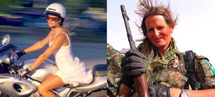 Καλλονή, πρώην μοντέλο από τον Καναδά, πολεμάει εναντίον του ISIS