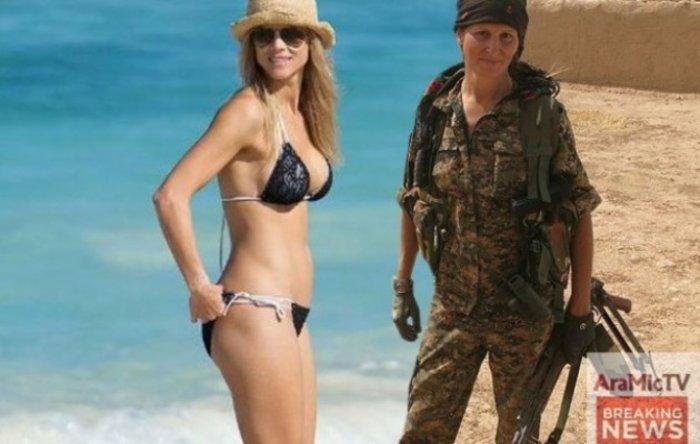 Καλλονή, πρώην μοντέλο από τον Καναδά, πολεμάει εναντίον του ISIS - εικόνα 3