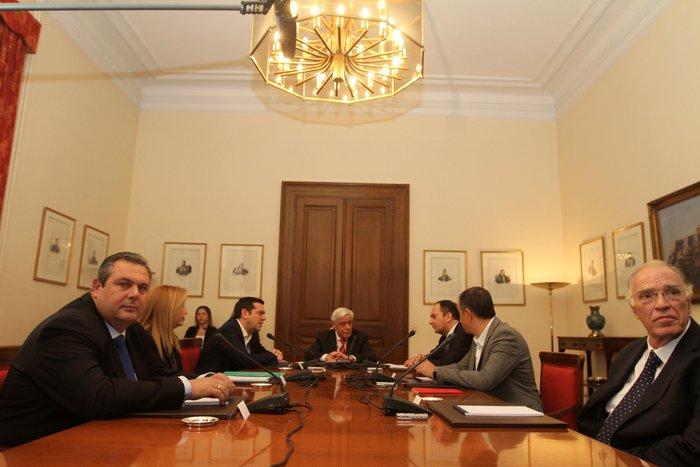 Ολοκληρώθηκε η σύσκεψη χωρίς συμφωνία των αρχηγών - εικόνα 7