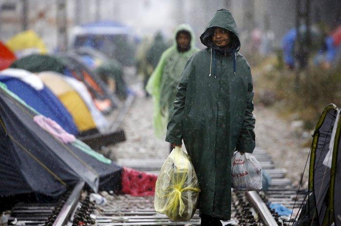 Ειδομένη: Απελπισμένος μετανάστης έπαθε ηλεκτροπληξία