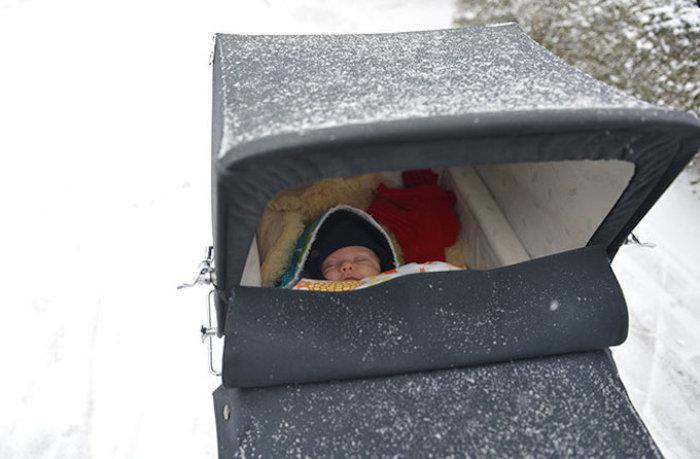 Γιατί οι Βόρειοι αφήνουν τα καρότσια με τα μωρά έξω στο πολικό κρύο; - εικόνα 2