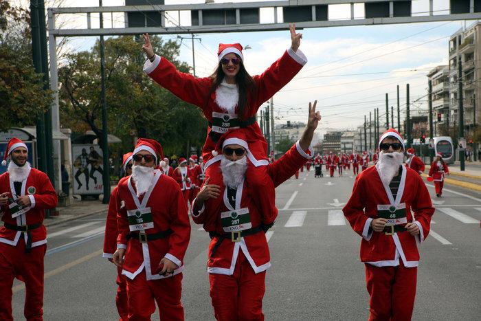 Σήμερα το «2ο Athens Santa Run», κλειστό το κέντρο της Αθήνας - εικόνα 2